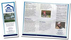 Isaiah House Brochure 2009