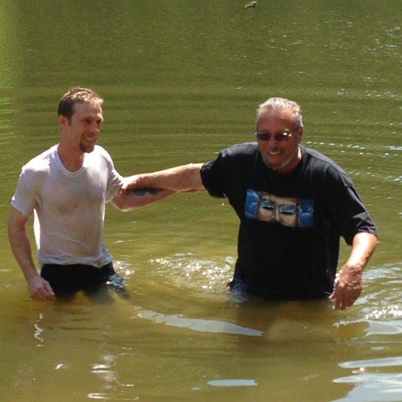 Baptism Day for Matt!